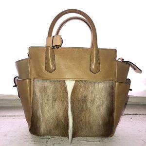 Reed Krakoff Calf Hair And Leather Bag